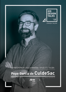 IED Design Talks. Pepe García. CuldeSac