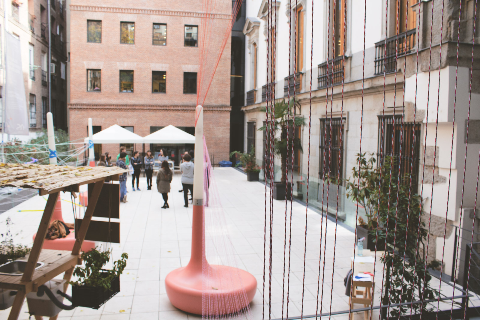 Los alrededores workshop en el ied design madrid ied for Donde estudiar diseno de interiores en madrid